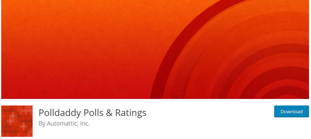 Polldaddy Polls Ratings — WordPress Poll Plugins