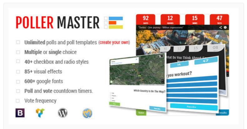 Poller Master- WordPress Poll Plugins