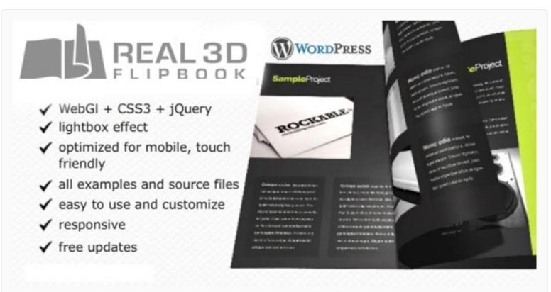 Real3D FlipBook WordPress PDF Viewer Plugins