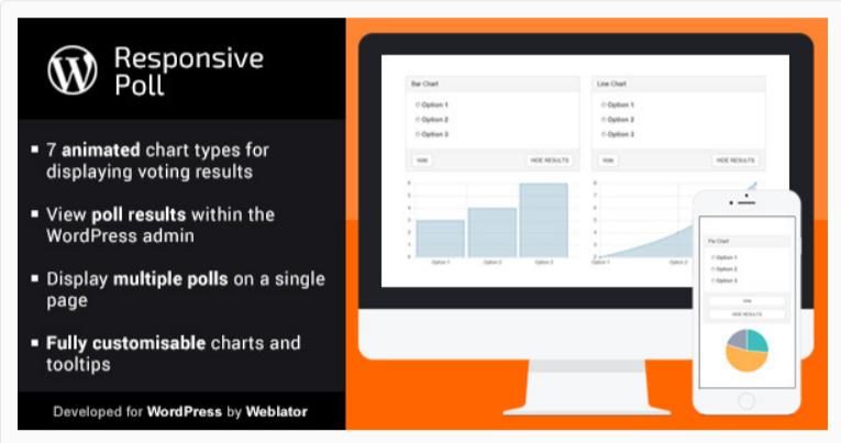 Responsive Poll- WordPress Poll Plugins