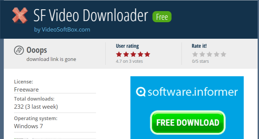 SF Video Downloader- Facebook Video Downloader