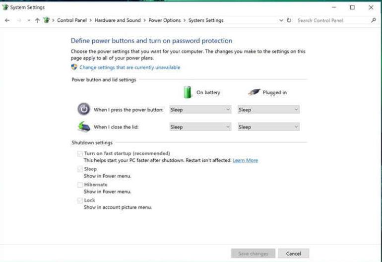 Shut Down- Tips to make Windows 10 faster