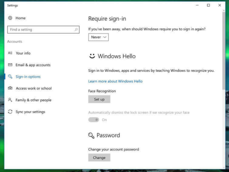 Sign in to Windows- Tips to speed up Windows 10