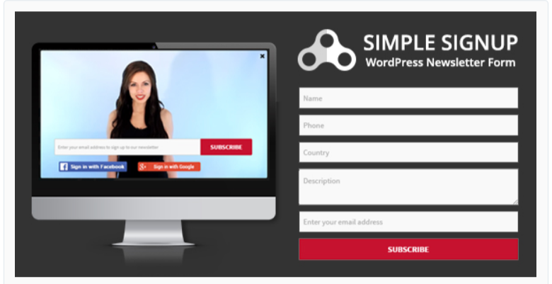 Simple Signup - WordPress Email Marketing Plugins