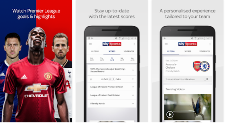 Sky Sports Live- Football Streaming App