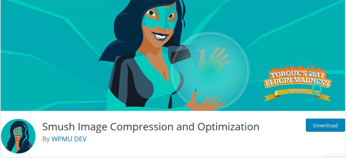 Smush Image Compression and Optimization- WordPress SEO PLugins