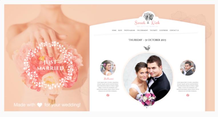 The Wedding Day- WordPress Wedding Themes