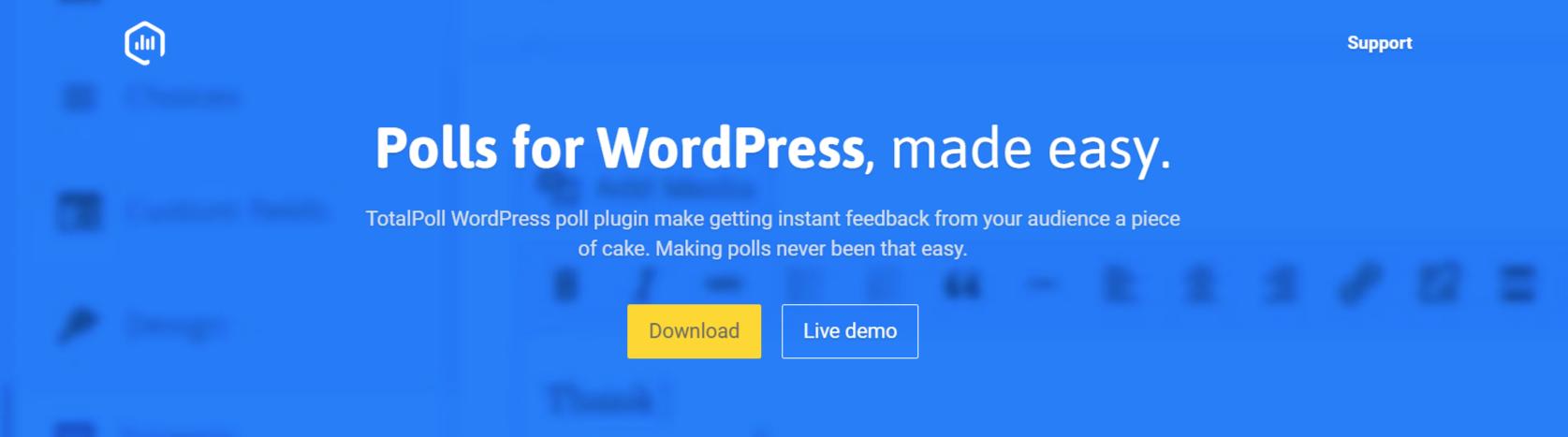 TotalPoll- WordPress Poll Plugins