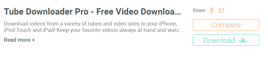 Tube Downloader Pro- Facebook Video Downloader