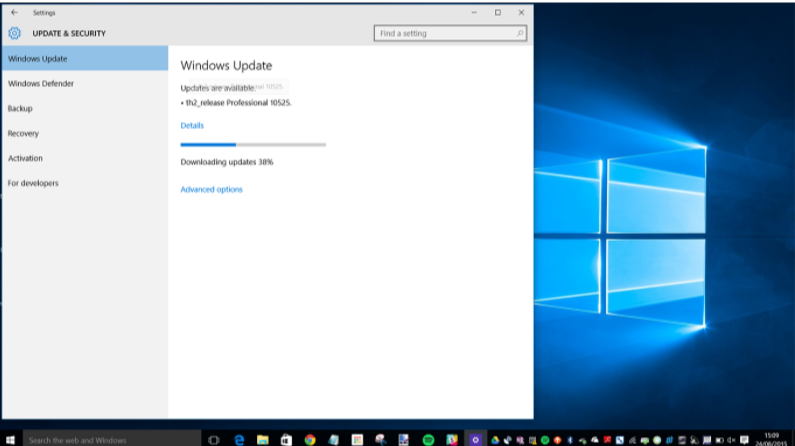 Updating Windows- Fix Windows 10 update