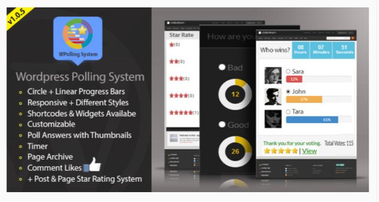 WPolling System- WOrdPress Poll Plugins
