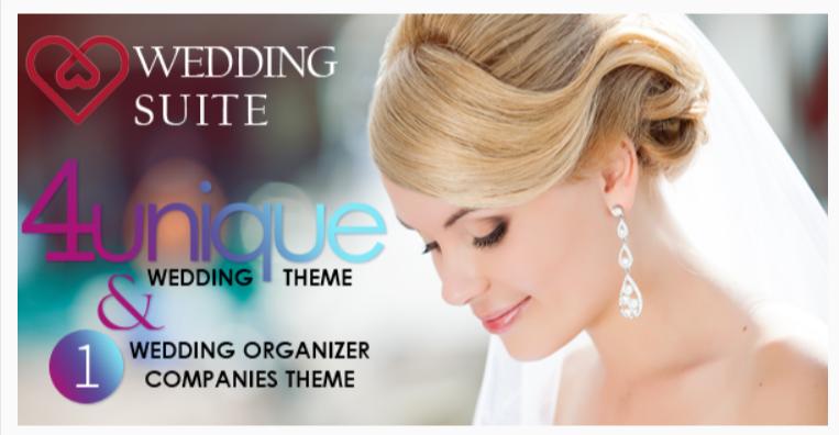 Wedding Suite - WordPress Wedding Themes