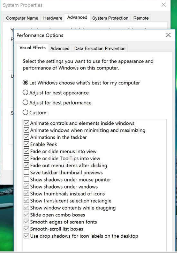 Power Options- Tips to speed up Windows 10