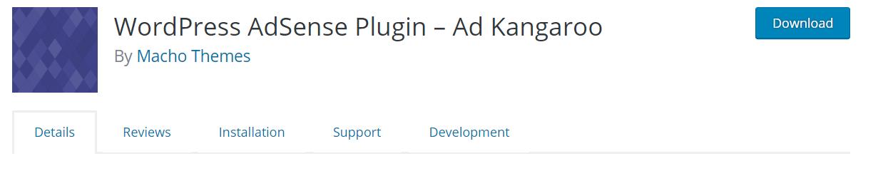 WordPress AdSense Plugin – Ad Kangaroo — WordPress Plugins