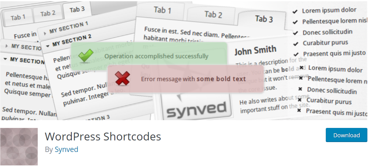 WordPress Shortcodes — WordPress ShortcodePlugins
