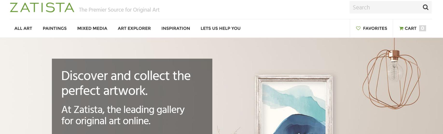 Zatista- Art Affiliate Programs