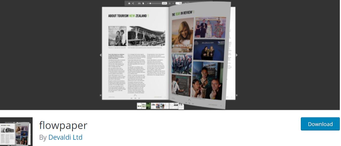 flowpaper — WordPress PDF Viewer Plugins