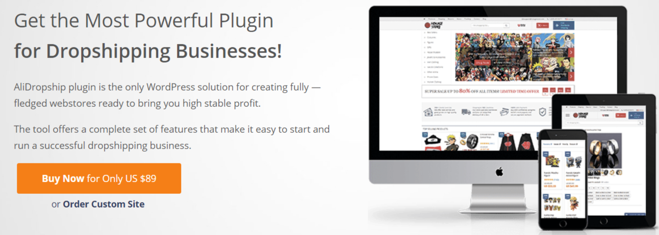 AliExpress Dropshipping Plugin- Dropshipping With WordPress