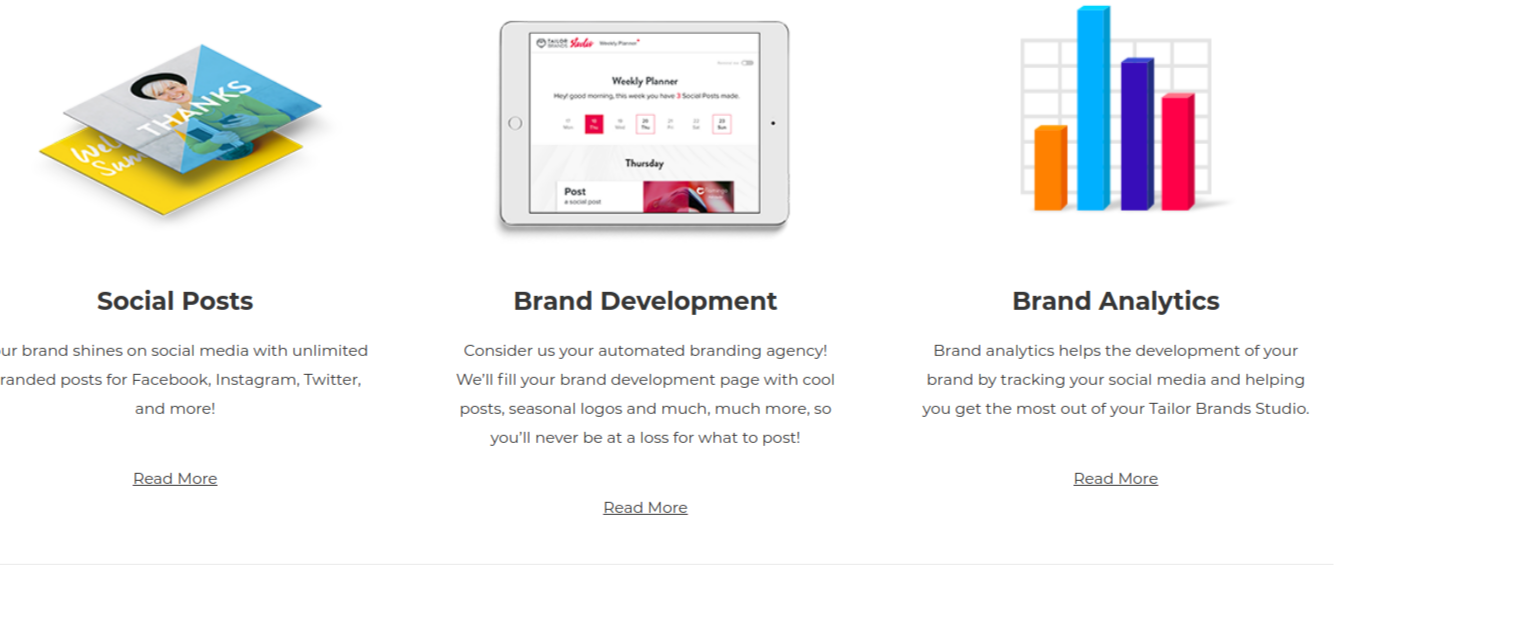 Branding Tools - Tailor Brands Review