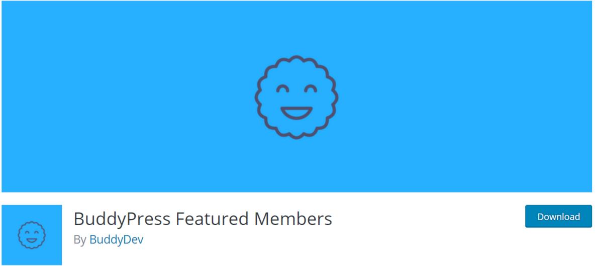 BuddyPress Featured Members — Best BuddyPress Plugins