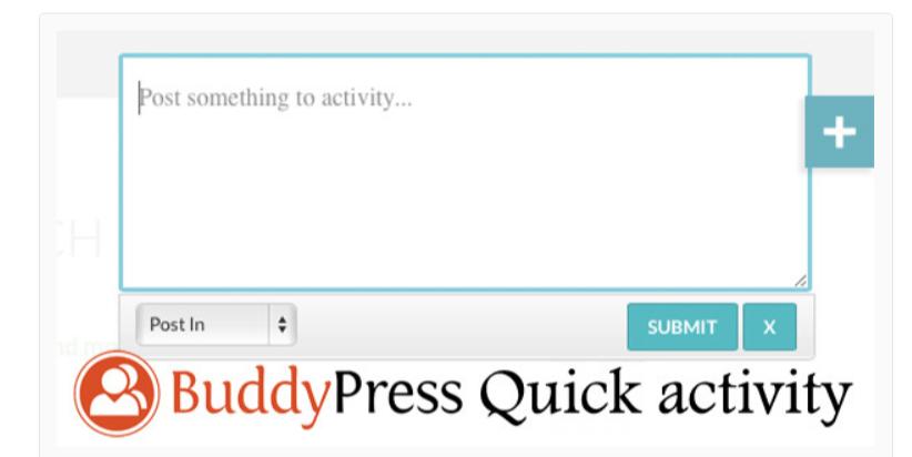 BuddyPress Quick Activity - Best BuddyPress Plugins
