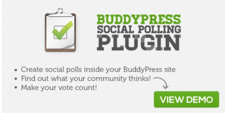 BuddyPress Social Polling Plugin -Best BuddyPress Plugins