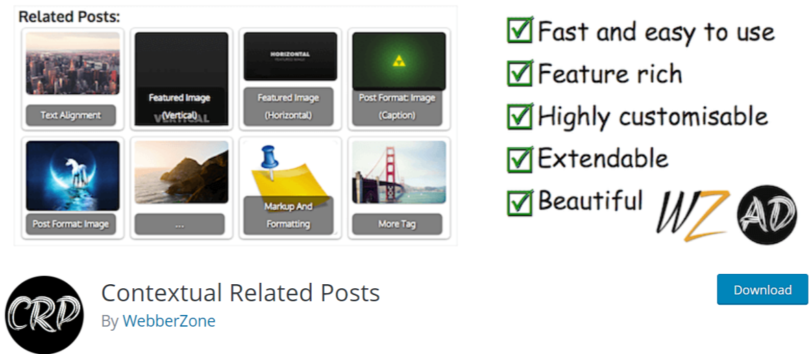 Contextual Related Posts — Related Post WordPress Plugins