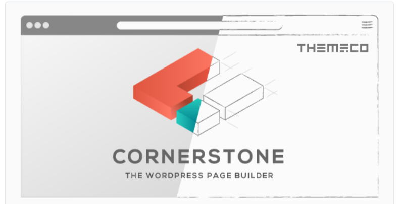 Cornerstone- WordPress Page Builder Plugins