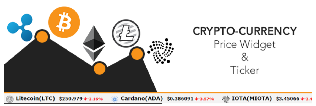 Cryptocurrency Price Ticker Widget — Cryptocurrency WordPress Plugins
