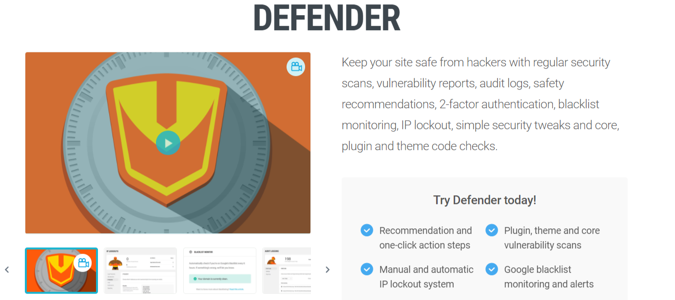 Defender Plugin- Dropshipping With WordPress