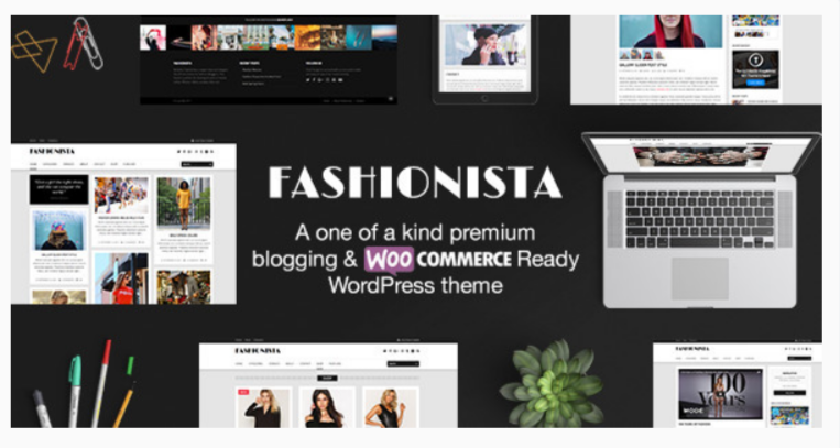 Fashionista - Fashion WordPress Themes