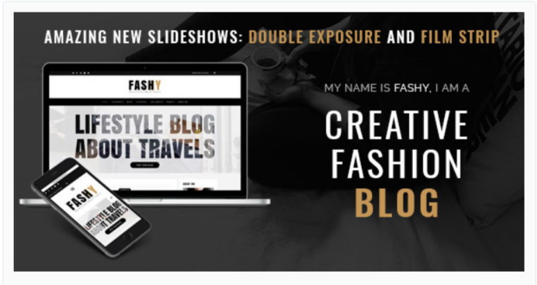 Fashy - Fashion WordPress Themes