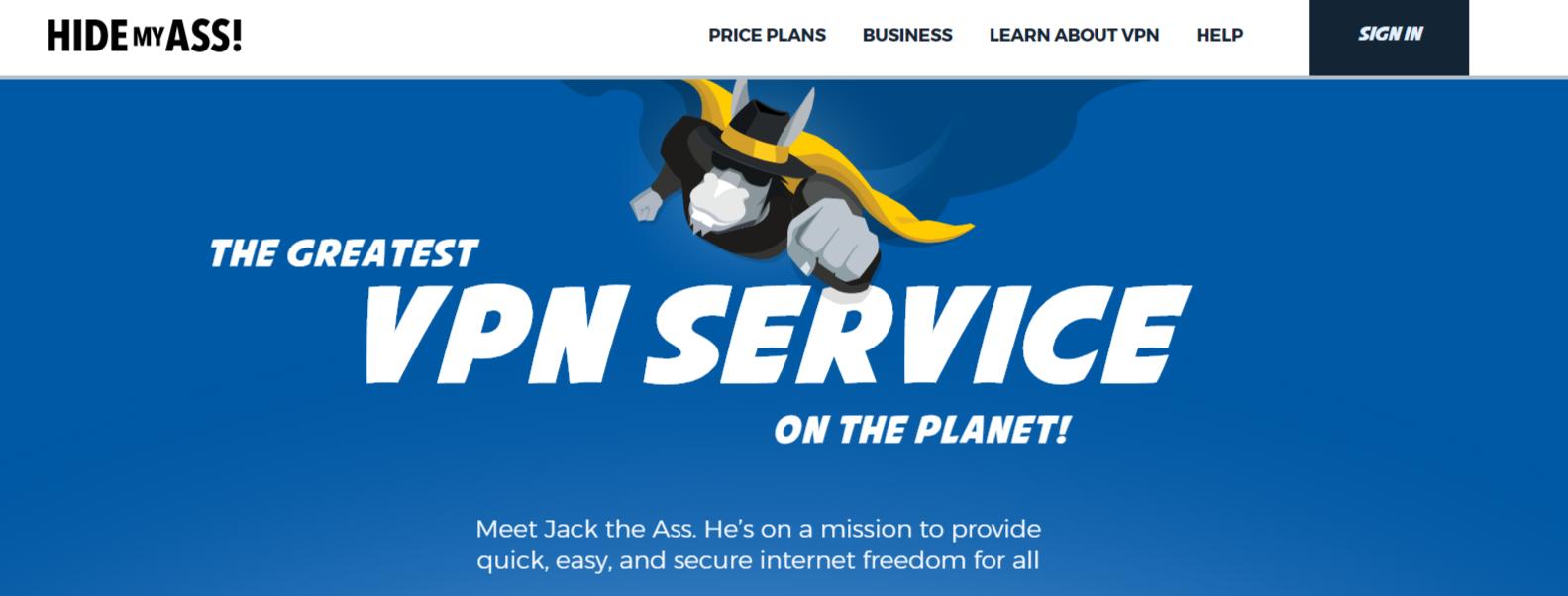 Hide My Ass - Best VPN For Qatar