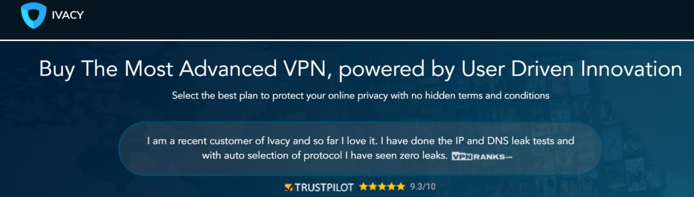 Ivacy - Best VPN For Egypt