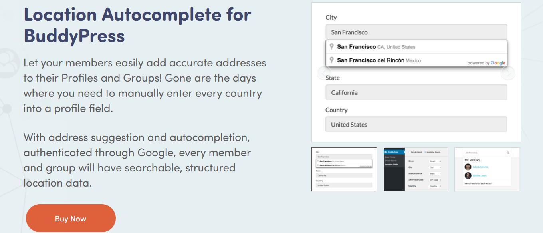 Locations for BuddyPress- Best BuddyPress Plugins