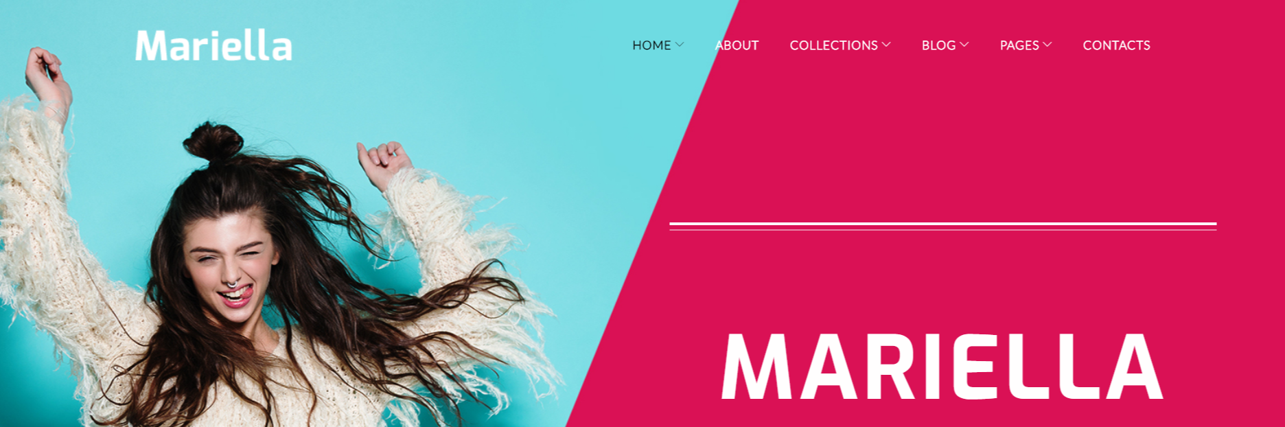 Mariella - Fashion WordPress Themes