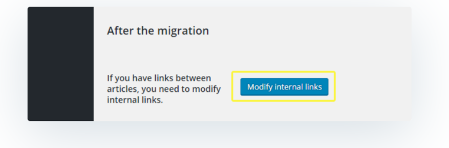 Modify Internal Links- Migrate Joomla to WordPress