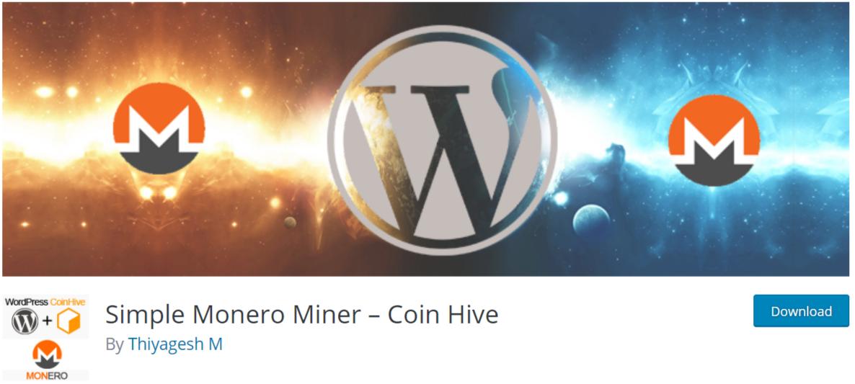 Monero - Cryptocurrency WordPress Plugins