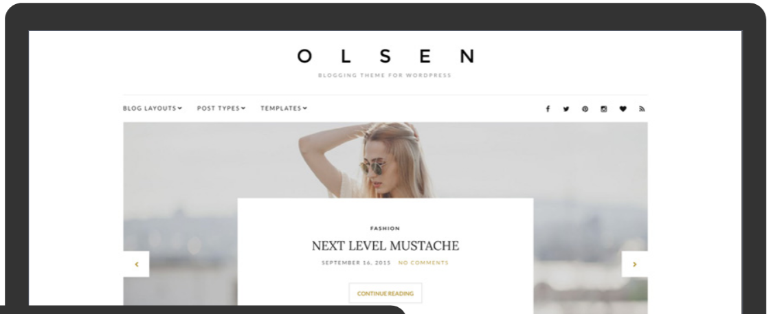 Olsen- Fashion WordPress Themes