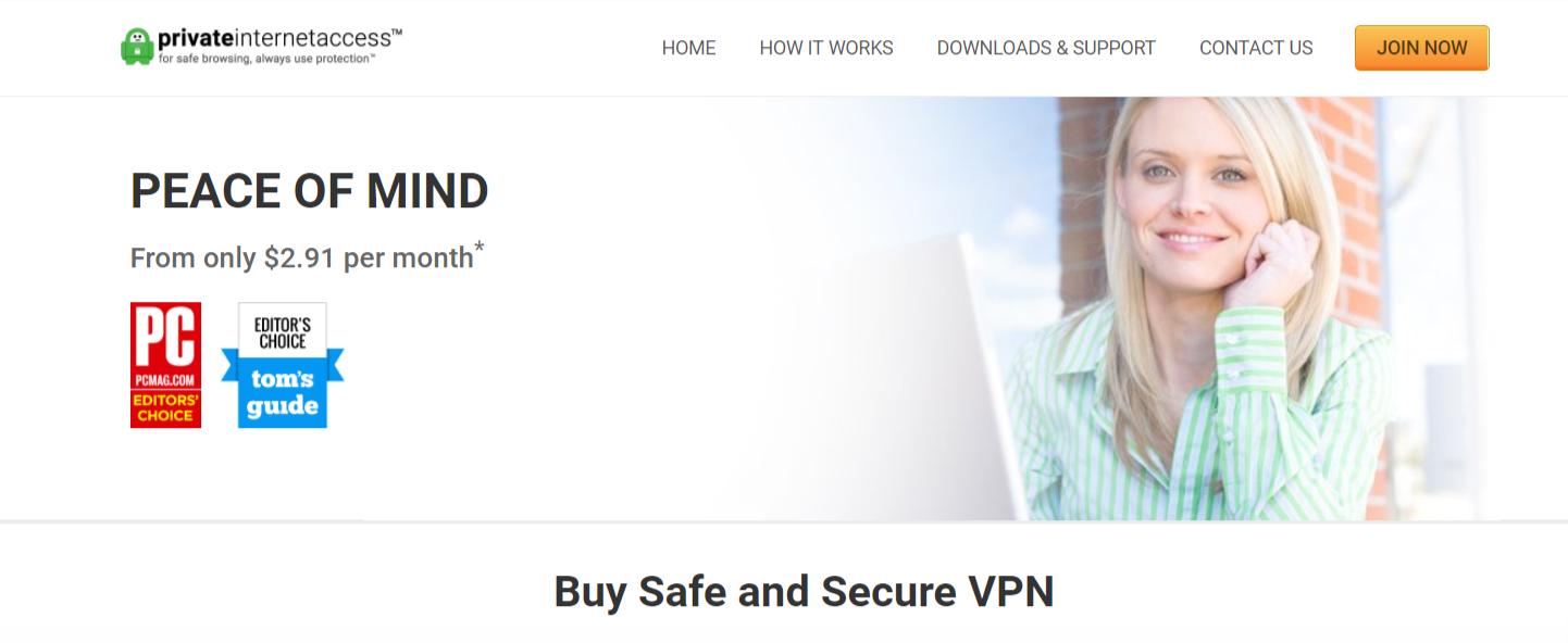 PIA- Best VPN For Egypt