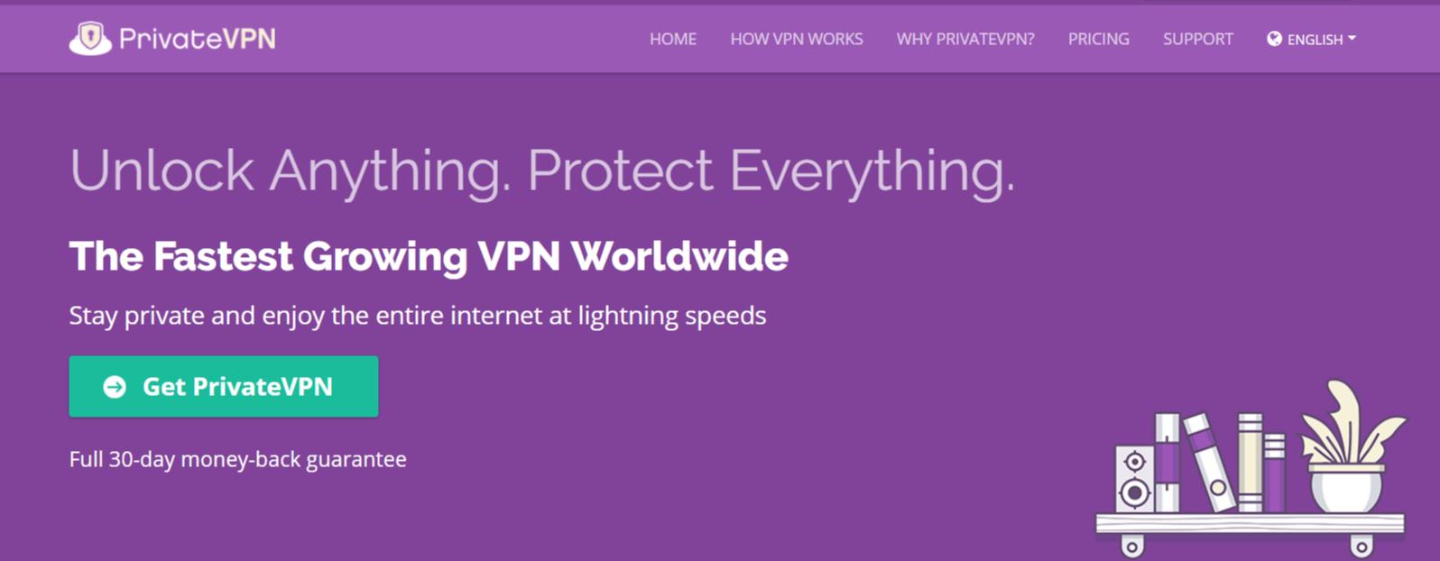 PrivateVPN - Best VPN For Egypt