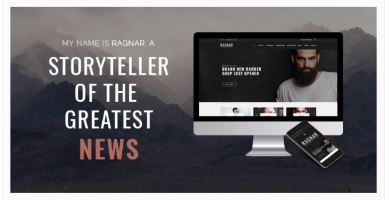 Ragnar - Fashion WordPress Themes