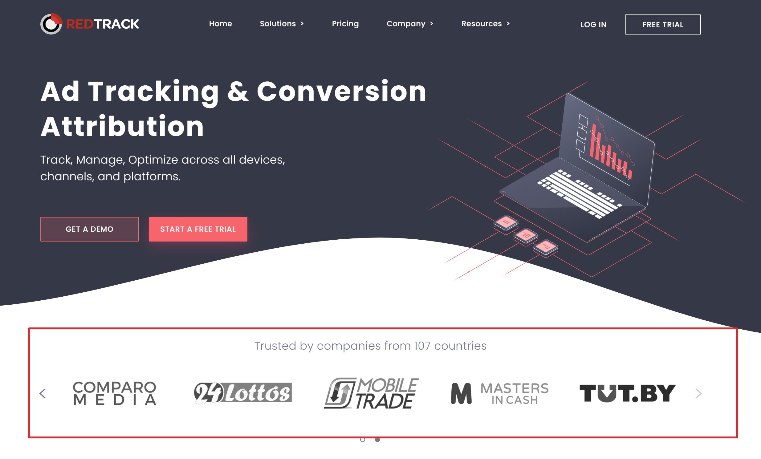 Redtrack ad tracker vs voluum