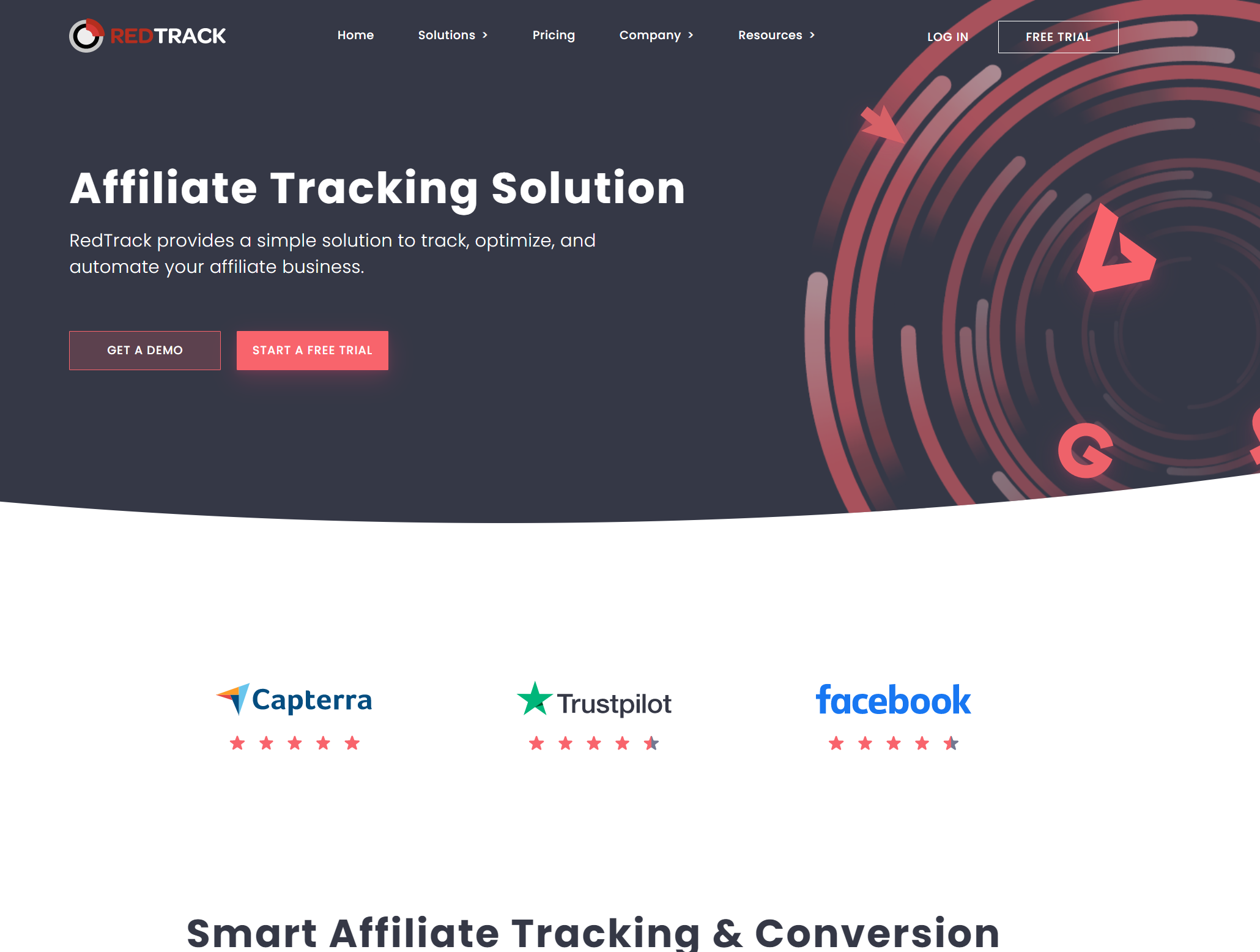 Redtrack affiliate tracking and conversion