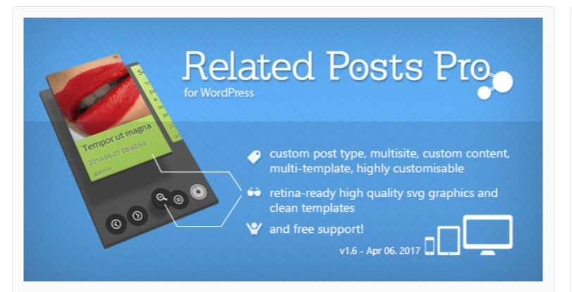 Related Posts Pro - Related Post WordPress Plugins