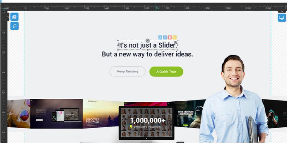 Slider Revolution - Drag and Drop Builder