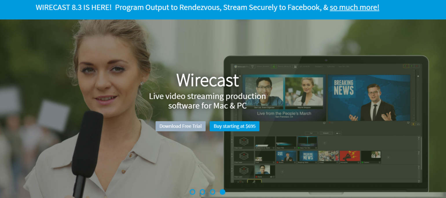 Wirecast- Live Streaming Software and Plugins For WordPress
