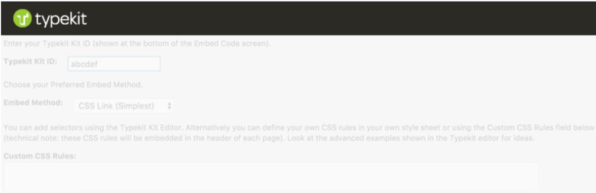 Typekit Fonts for WordPress — Typography WordPress Plugins