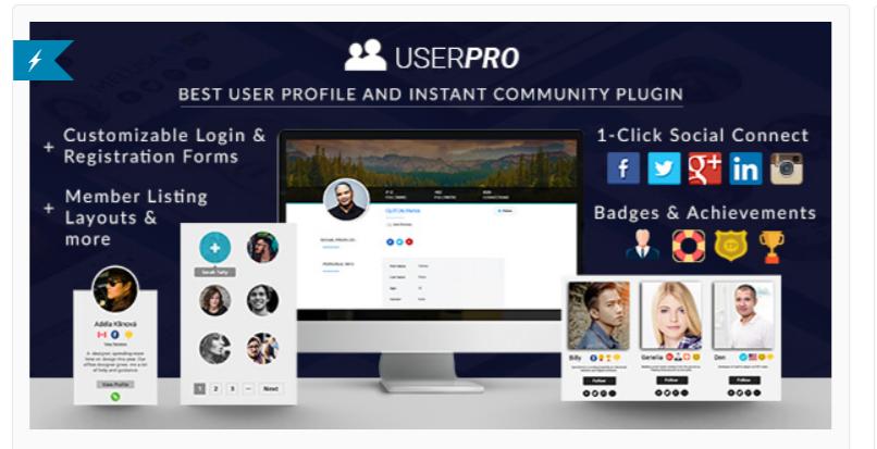 UserPro - Best BuddyPress Plugins