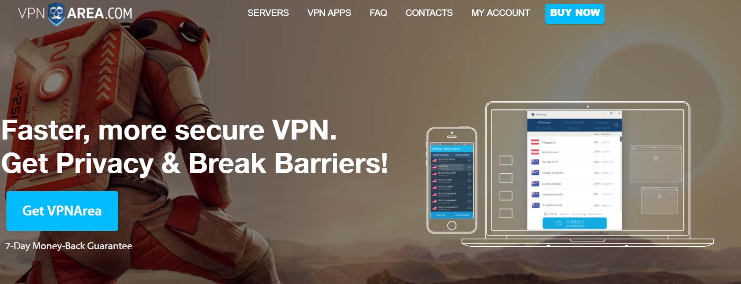 VPNArea- Best VPN For Qatar